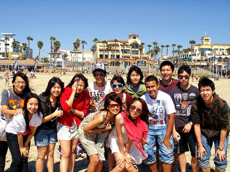 Лагерь английского языка в Лос-Анджелесе