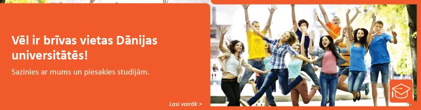 brīvas vietas Dānijas universitātēs
